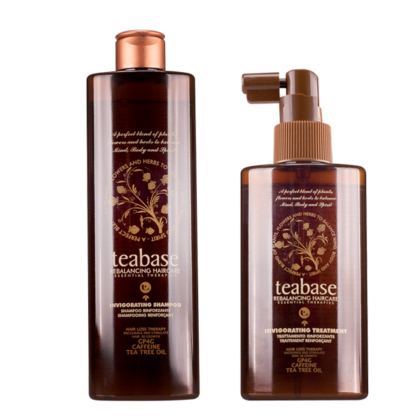 Tecna Teabase Invigorating Shampoo 250 ml + Treatment 150ml