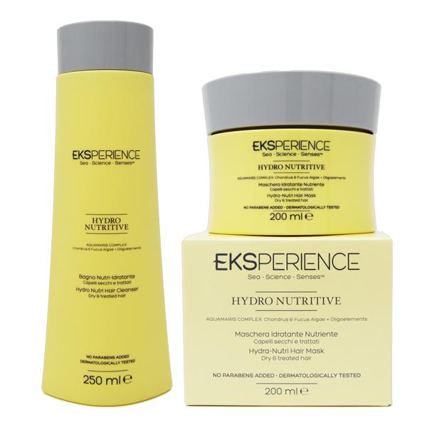 eksperience  Eksperience Kit Hydro Nutritive Shampoo + Maschera - EKS Prodotti ...
