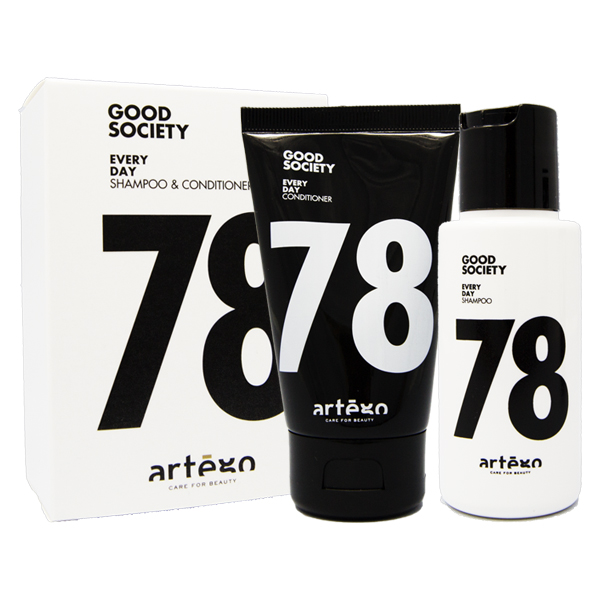 Artègo Good Society Travel Kit Every Day 78 Shampoo + Conditioner