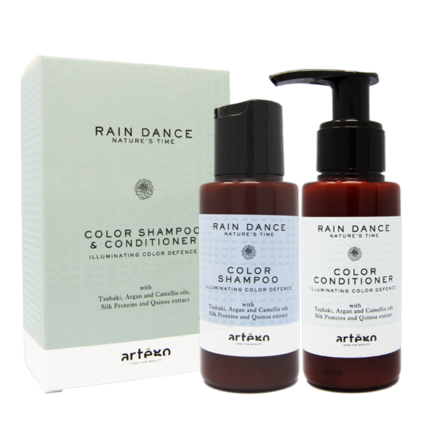 Artègo Rain Dance Travel Kit Color Shampoo + Conditioner