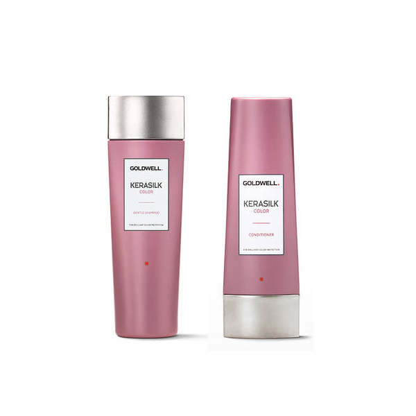 Goldwell Kerasilk Color Travel Kit Shampoo + Conditioner