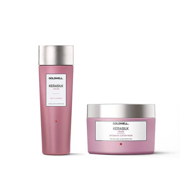 Goldwell Kerasilk Color Travel Kit Shampoo + Maschera