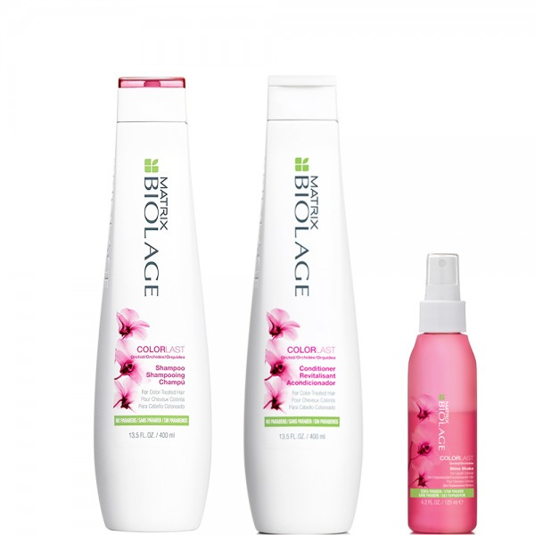 Matrix Biolage Colorlast Kit Shampoo + Conditioner + Shine Shake