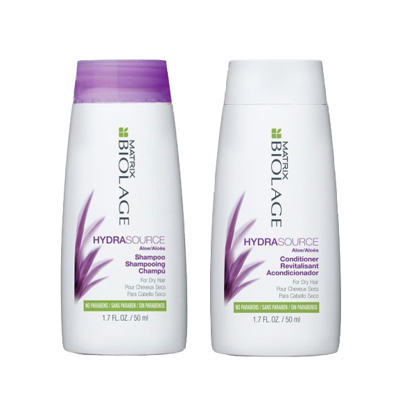 Matrix Biolage Travel Kit Hydrasource Shampoo + Conditioner