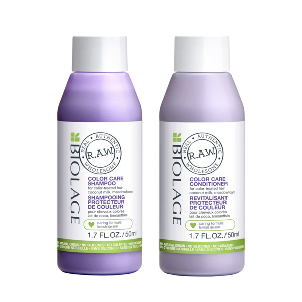 Matrix Biolage R.A.W. Color Care  Travel Kit Shampoo + Conditioner