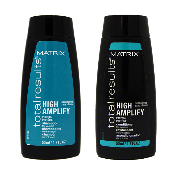 Matrix Total Results Travel Kit High Amplify Shampoo + Conditioner