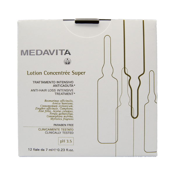 Medavita Lotion Concentrée Trattamento Anticaduta Super 12x7 ml