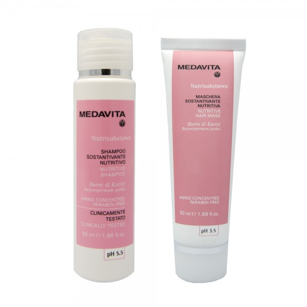 Medavita Travel Kit Nutrisubstance Shampoo + Maschera