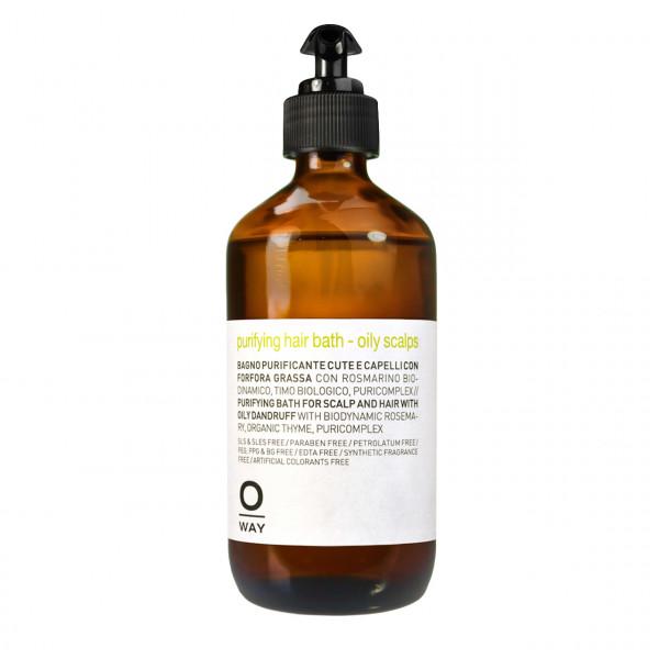Oway Purifying Hair Bath Oily Scalps Shampoo 240 ml