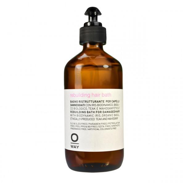 Oway Rebuilding Hair Bath Shampoo 240 ml