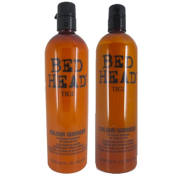 Tigi Colour Goddess Oil infused Shampoo  750ml + Conditioner 750ml